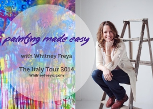 Painting Made Easy graphic_Italy tour
